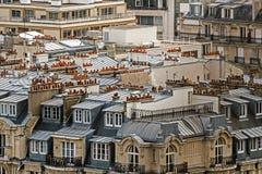 Parisian rooftops Stock Image