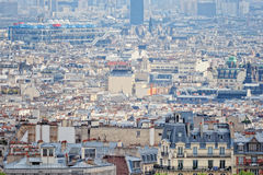 Parisian Skyline Stock Image