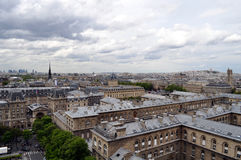 Parisian skyline Stock Photography