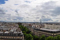 Parisian skyline Stock Images