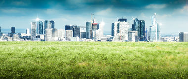 Parisian skyline view. A Parisian skyline view detail royalty free stock image