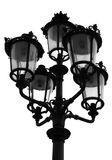 Parisian Street Light Royalty Free Stock Photography