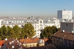 Parisian suburb, France. Stock Image