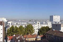 Parisian suburb. Royalty Free Stock Images