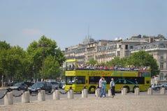 Parisian tourists. Stock Images