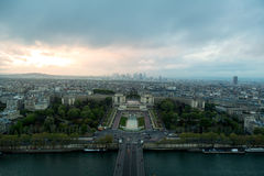 Parisian Trocadero Royalty Free Stock Image