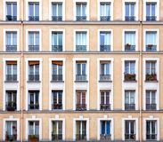 Parisian windows Stock Photos