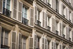 Parisisk arkitektur arkivfoto