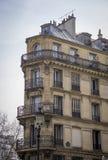 Parisisk arkitektur arkivbilder