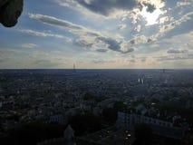 Parisisk sikt royaltyfri bild