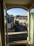 Parisisk sikt Arkivfoto