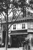 Parisiskt kafé Royaltyfri Bild