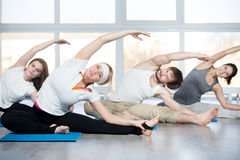 Parivrtta Janu Sirsasana Stock Photography