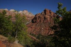 2 parków narodowych zion Fotografia Stock