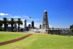 park,珀斯,澳大利亚西部国王 库存照片