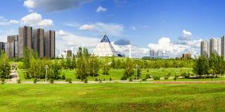 Park总统在阿斯塔纳,哈萨克斯坦 图库摄影