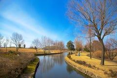 Park. Of Kurobe, Japan in early spring Royalty Free Stock Photos