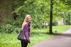 In park. Stock Photography