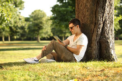 In park Stock Photography