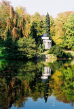 Park. Landscape of a park in autumn in Germany Royalty Free Stock Photography