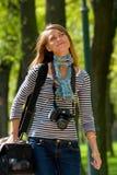 In park stock afbeeldingen