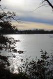 Park湖 免版税库存照片