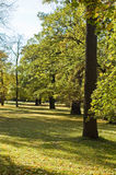 Park. Around the chateau in Teplice, Czech republic Royalty Free Stock Photography