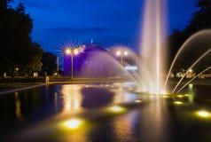 Park Adam-Mickiewicz in Poznan Lizenzfreies Stockfoto