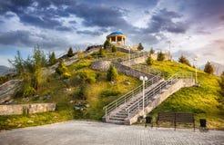 Park in Almaty Lizenzfreie Stockfotos