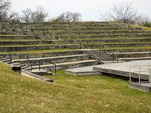 Park Amphitheater. Outdoor park amphitheater Royalty Free Stock Photos