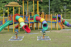 In park amusement equipment Royalty Free Stock Photography