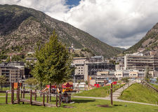 Park of Andorra Stock Images