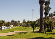 Park Antibes France French Riviera Royalty Free Stock Photography