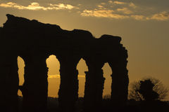 Park of the Aqueducts Royalty Free Stock Photo