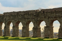 Park of the Aqueducts Royalty Free Stock Image