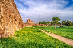 Park of the Aqueducts, Rome Stock Photography