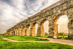 Park of the Aqueducts, Rome Royalty Free Stock Photos