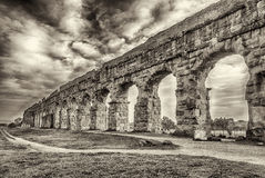 Park of the Aqueducts, Rome Royalty Free Stock Images