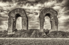 Park of the Aqueducts, Rome Stock Image