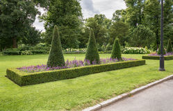 Park around Royal Palace - Oslo Royalty Free Stock Photography