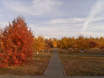 Park in Astana Royalty Free Stock Images