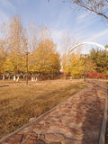 Park in Astana Stock Image