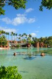 Park in the Atlantis Paradise Island Stock Photo
