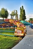 Park attractions and entertainment Sunny Island in Krasnodar Stock Image