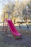 Park in the autumn background royalty free stock image