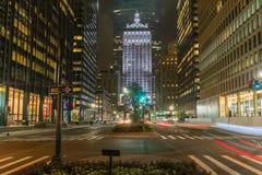 Park Avenue Fotografía de archivo libre de regalías