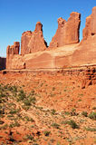 Park Avenue, Arches national park Stock Images