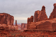 Park Avenue - Arches National Park Stock Photos