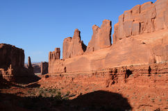 Park Avenue in Arches National Park Royalty Free Stock Photography
