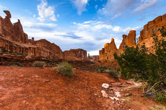 Park Avenue at Arches National Park Royalty Free Stock Photos